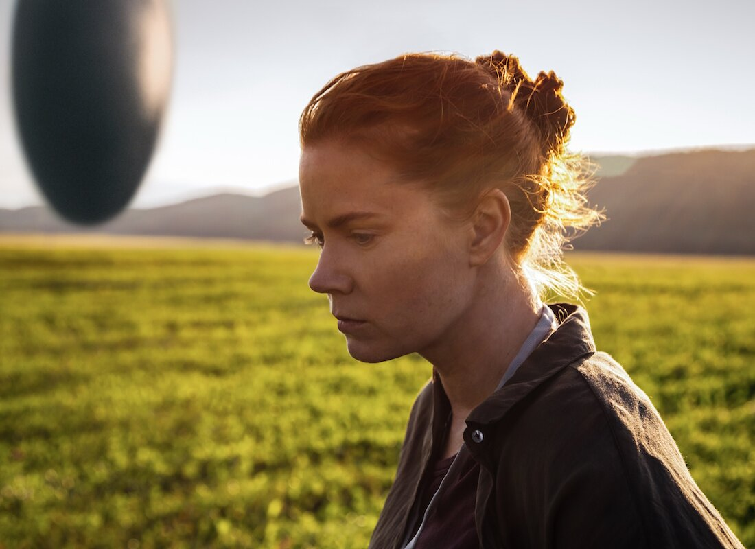 Amy Adams en <en><strong>Arrival</strong></em> (Denis Villeneuve, 2016)